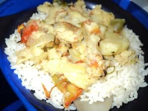 ribe, krumpira, hrana, ploče