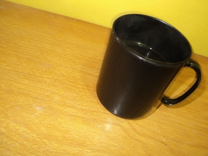 coffee, mug, black, ceramic