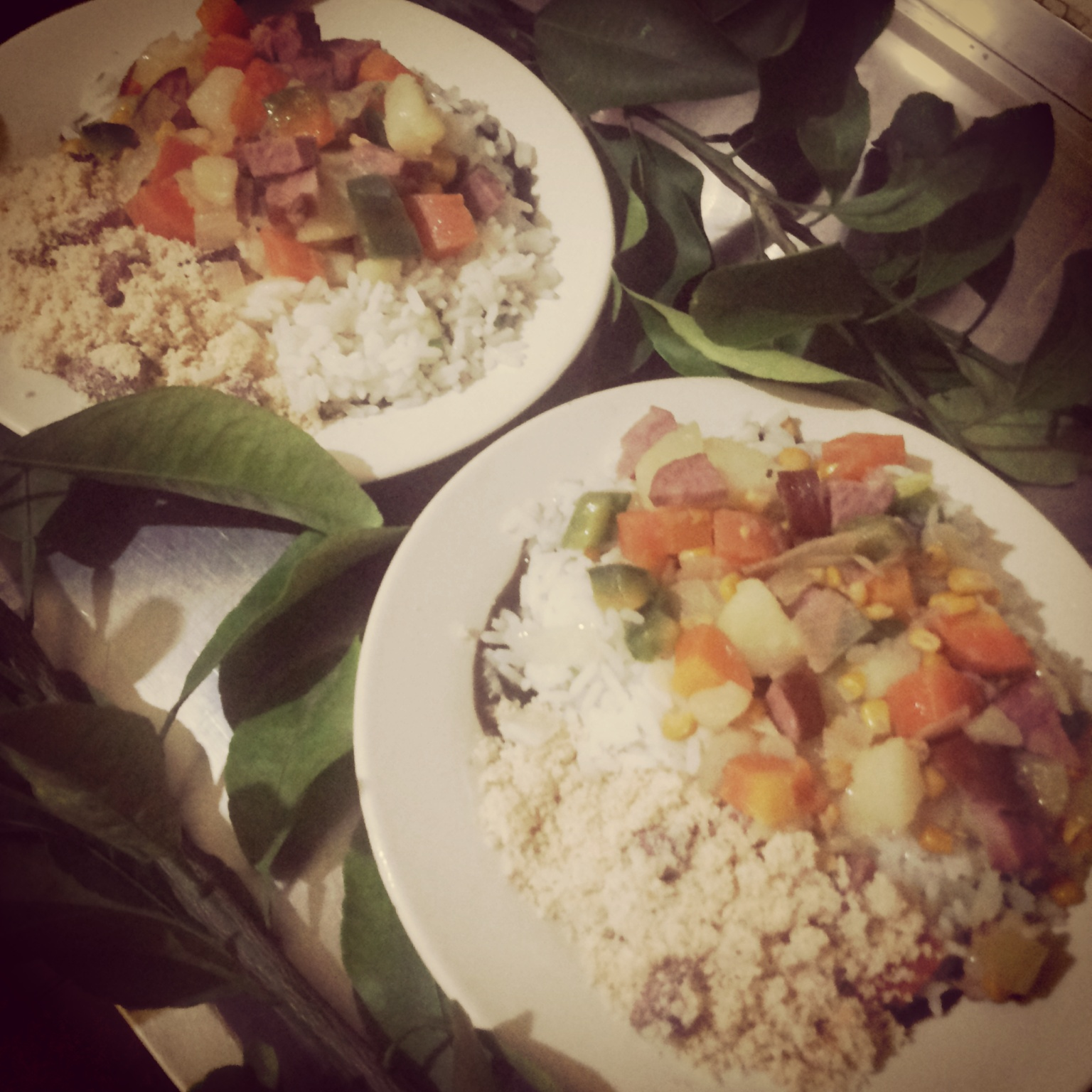 Free photograph; natural, lunch, vegetables, rice, healthy, meal