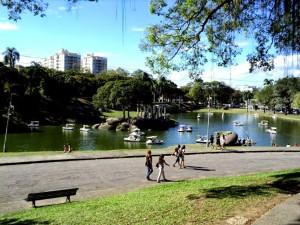 quinta, Vista, Lagoon, Park