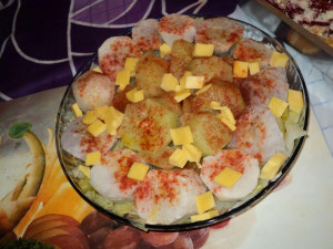 vegetabilsk, salat, ost, mat, lunsj, tabell