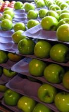 pommes vertes, épicerie,