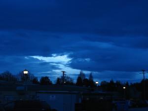 aube, paysage, clair de lune, Victoria