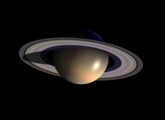 Saturn planète, système solaire, dessin, univers