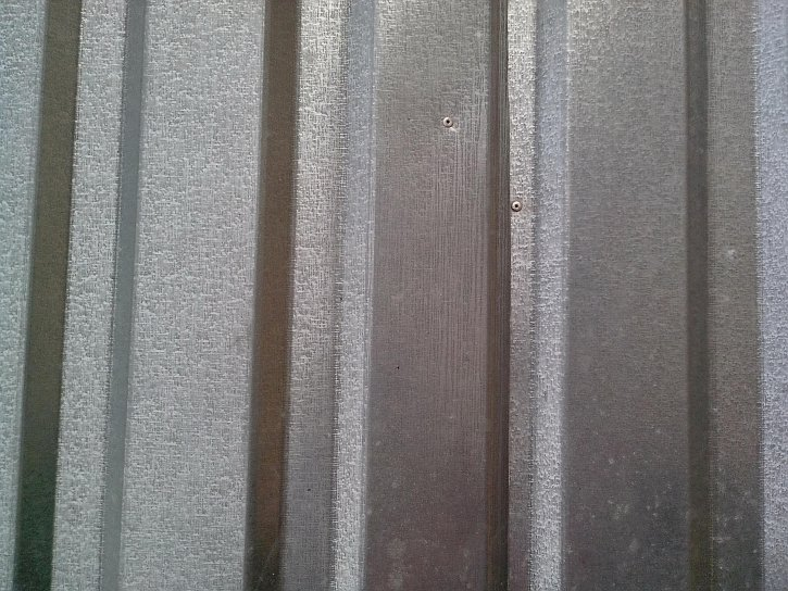 galvanized, rolled, metal, plate