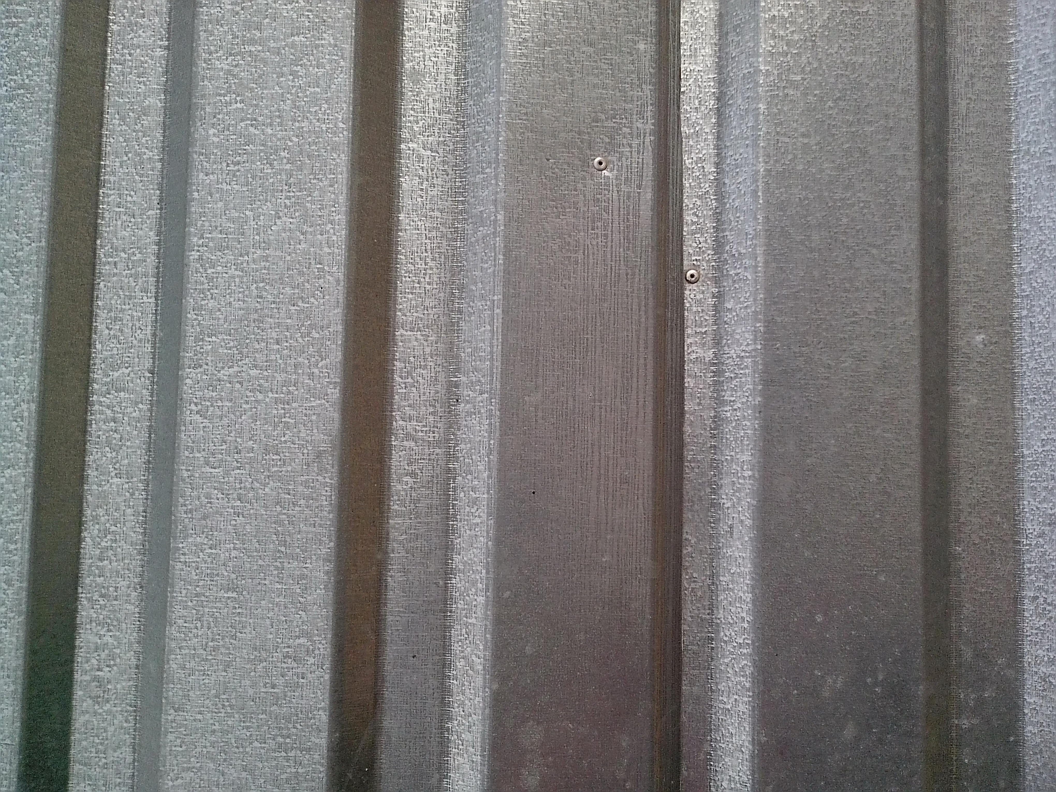 Free photograph; galvanized, rolled, metal, plate