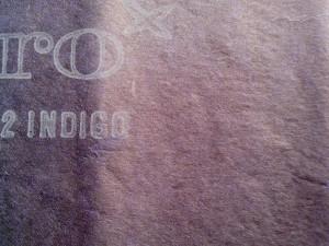 indigo, cartographie, papier, modèle, cru
