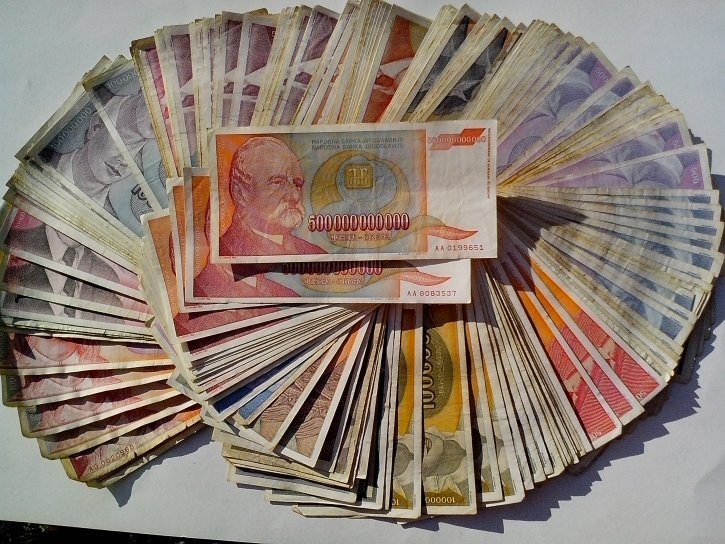 money, big, banknotes, great, inflation, 500000000000, bill