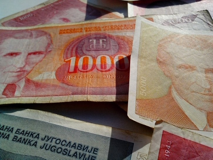 nikola, Tesla, money, Yugoslavia, banknotes, inflation, cash, bill