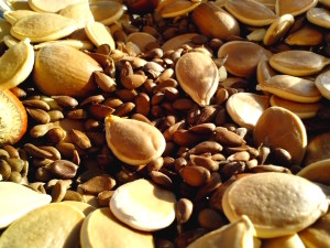 dovleac, mere, pere, seminţe