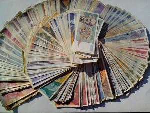 Tổng hợp, tiền, tiền giấy, tiền tệ, tiền mặt, hóa đơn