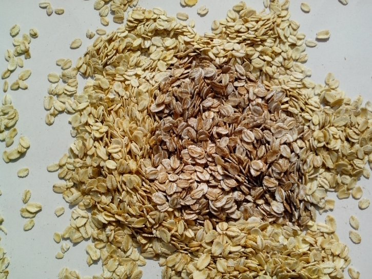 oats, rye, barley, germ, cereal, flakes, food, grains