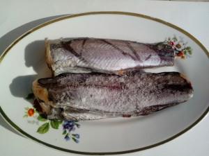 saltwater, fish, hake, meat, steak, fillets