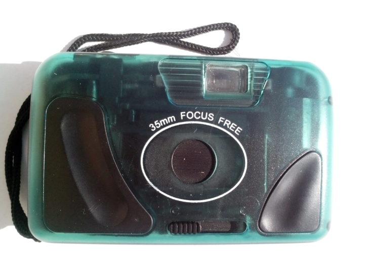 old, plastic, photo, camera