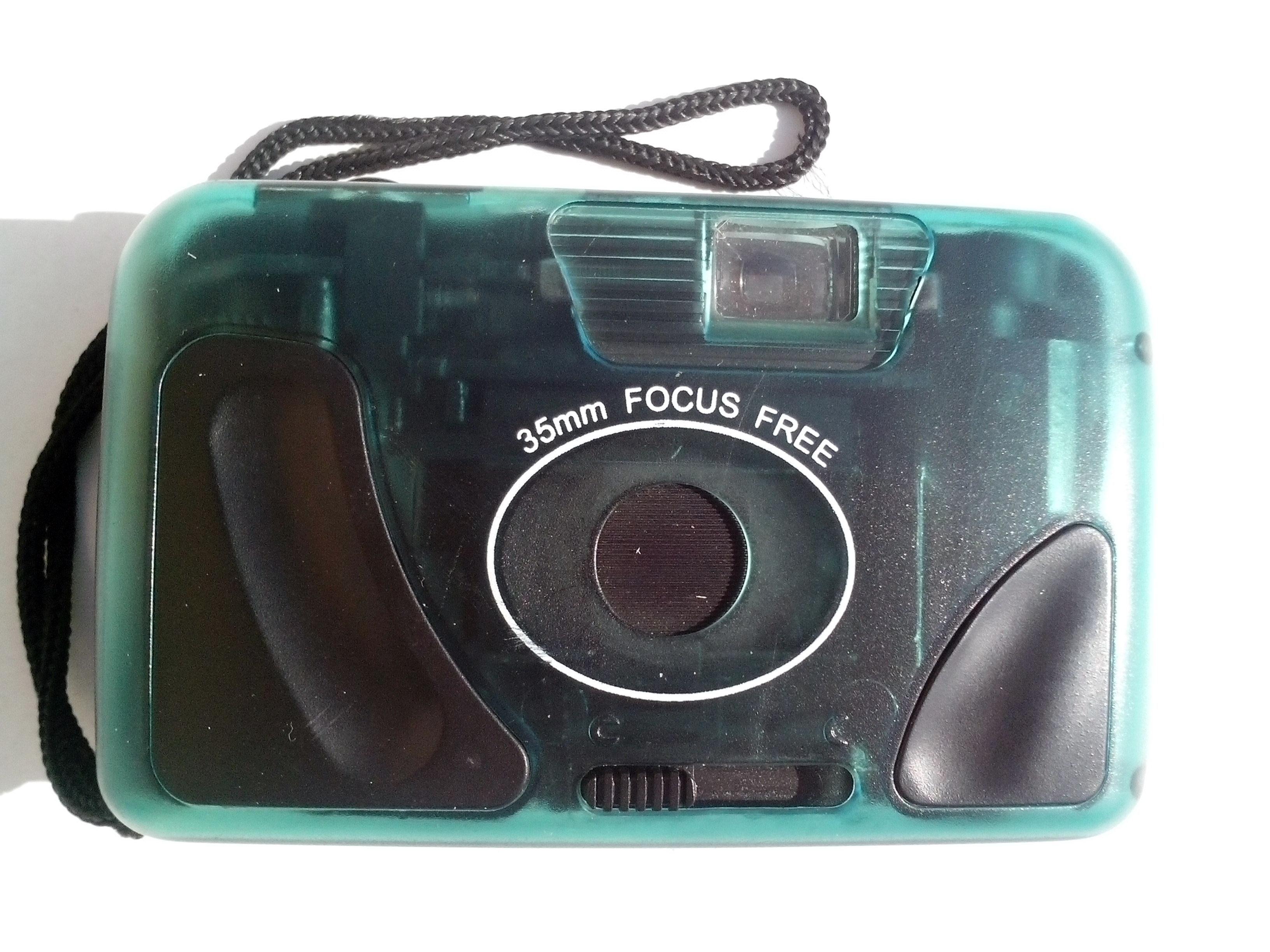 Free photograph; old, plastic, photo, camera