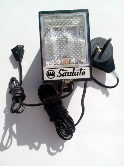 photo, electric, flash, light, old, object