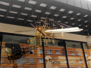 airplane, biplane, model, attraction