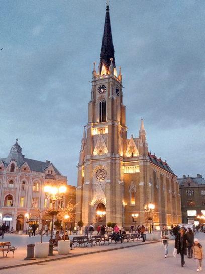catholic, church, Novi, Serbia
