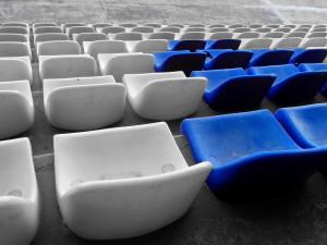 siège, stade, gradins