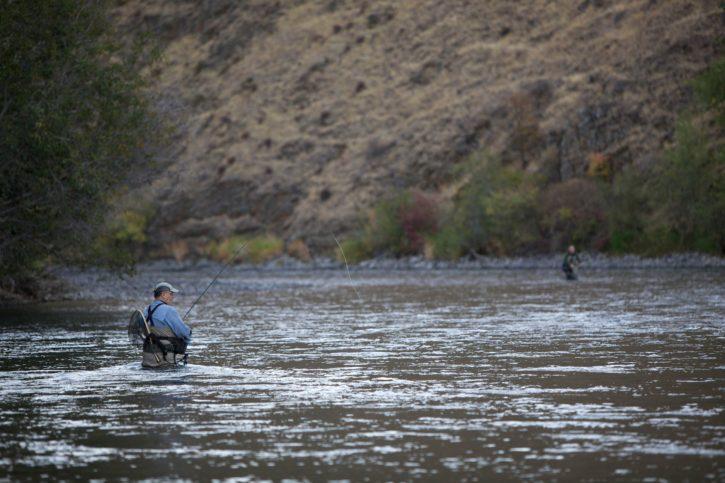 anglers, fish, trout, steelhead, Yakima, river