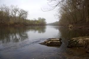 banks, Potomac, river, coast, shore
