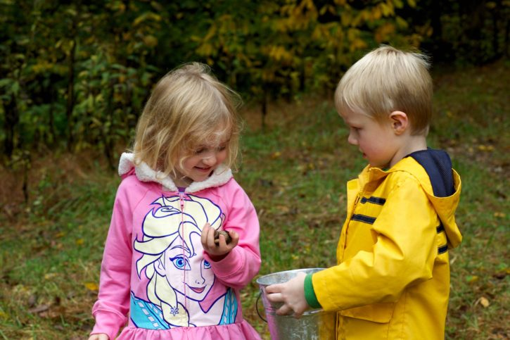 children, brother, sister, play