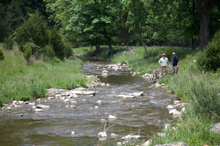 men, river, outdoor, recreation