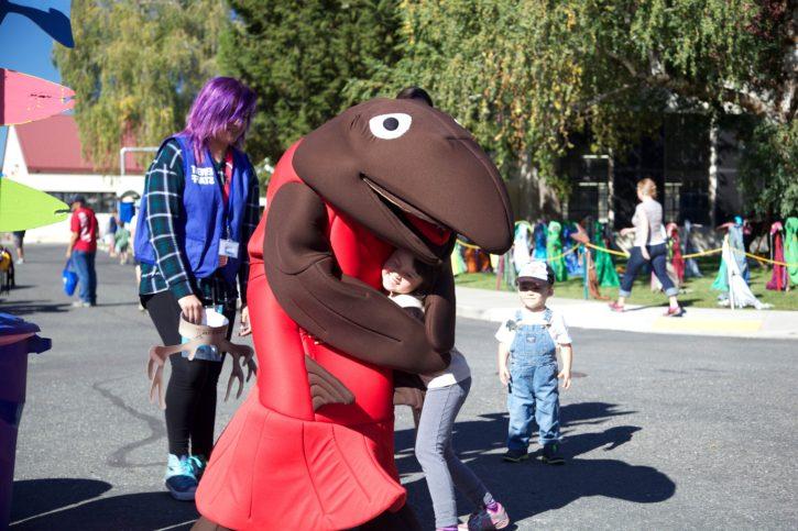 costume, parade, street, urban