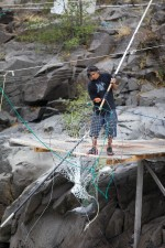 dip, nets, traditional, fishing