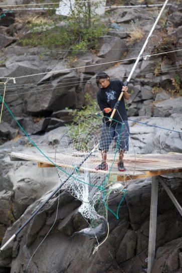 dip, nets, traditional, fishing