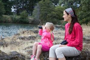 l'environnement, l'éducation, la mère, les enfants, la nature, le plaisir