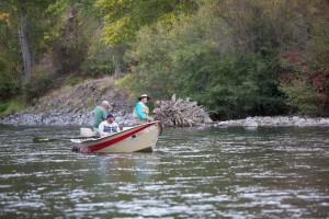 famille, loisirs, bateau, pêche