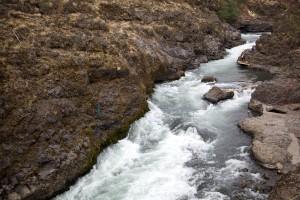 rychlý, spěchá, řeka, vody