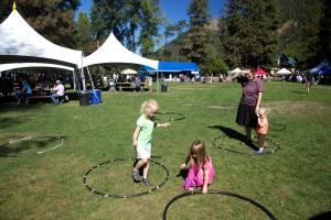 Festival, Hulu, Reifen, Kinder