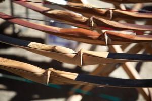 tradizionale, in legno, gli archi, cremagliera