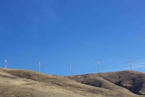 wind turbines, create, energy, Columbia, river, basin