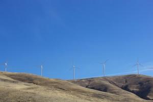 éoliennes, créer, énergie, Columbia, rivière, bassin