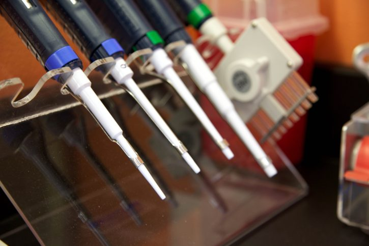 genetikai, laboratóriumi eszközök