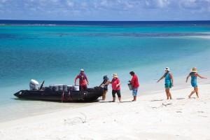 raj, island, pláž, ľudí, leto