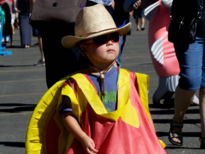 young boy, costume, parade, child, funny