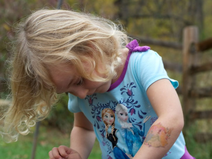 young, cute, blonde, girl, child