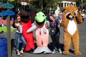 Jugend, Parade, Kostüm, Stadt