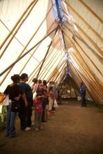дълъг, палатка