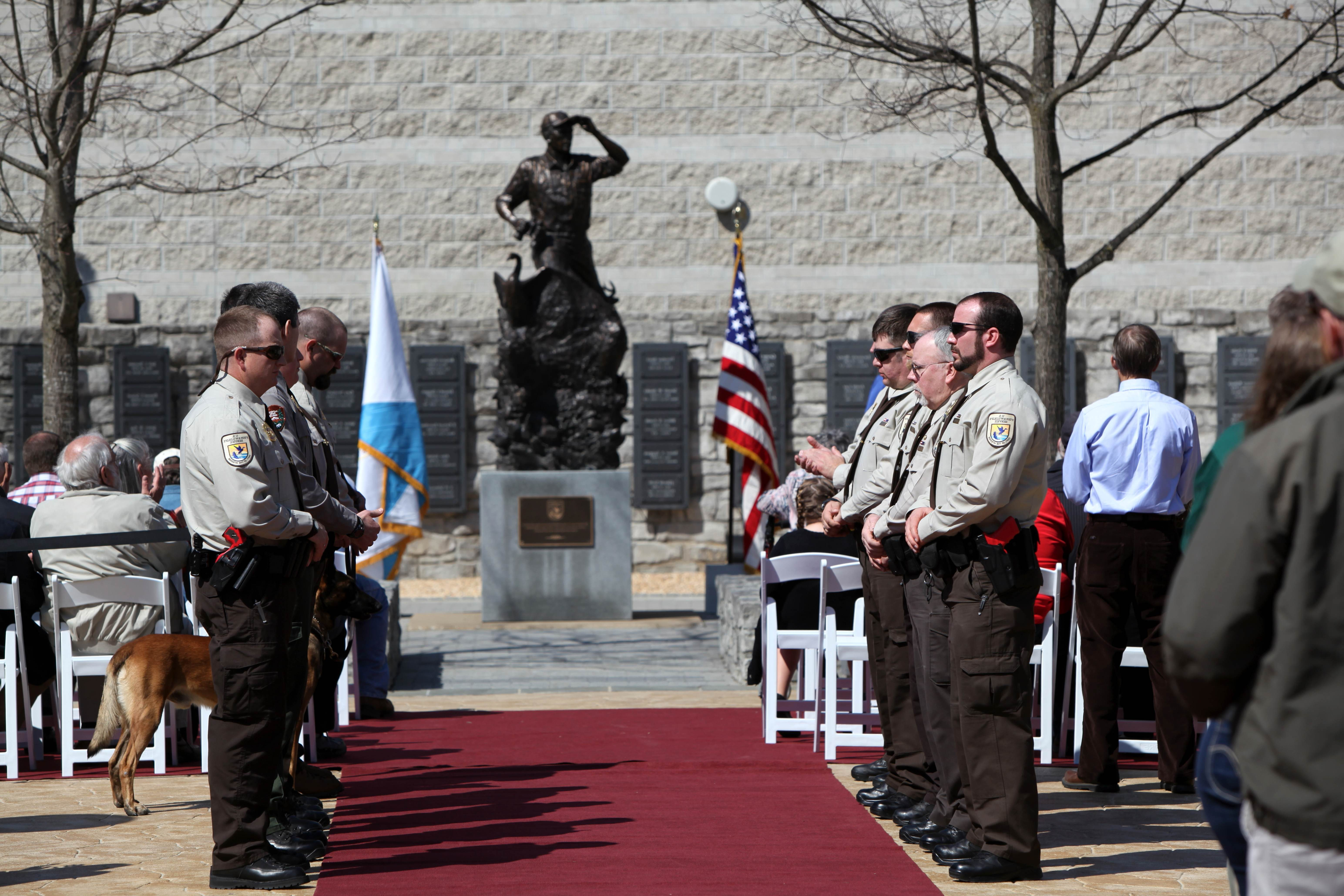 Free photograph; memorial, ceremony, people, red, carpet