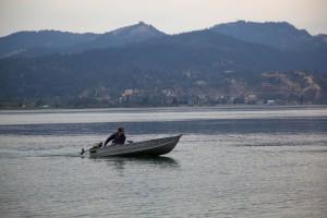 recreativa, paseos en bote