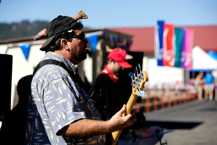 street, music, players
