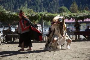Native, amerikansk, dansende, masker