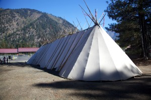 Indian, tent, tipi