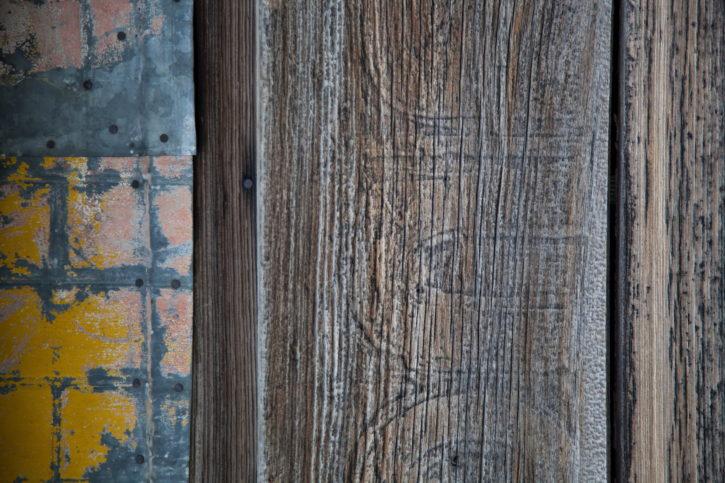 various, surfaces, textures, buildings, including, wood, concrete