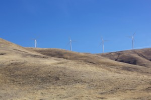 wind turbines, create, energy